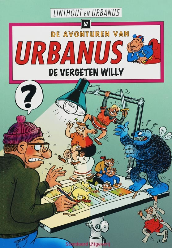 De vergeten Willy De avonturen van Urbanus, Willy Linthout, Paperback