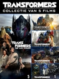 TRANSFORMERS 1-5 BILINGUAL -CAST: MEGAN FOX, SHIA LABEOUF, MARK WAHLBERG. MOVIE, DVD