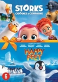 Storks + Happy feet, (DVD)