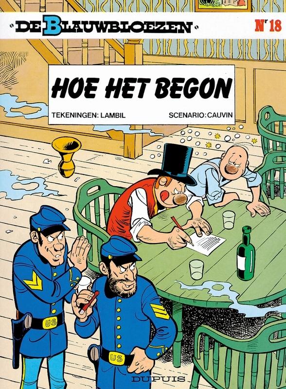 BLAUWBLOEZEN 18. HOE HET BEGON (HERDRUK) BLAUWBLOEZEN, Cauvin, Raoul, Paperback