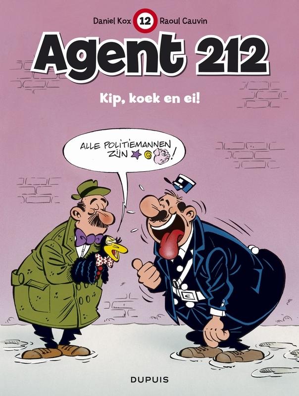 AGENT 212 12. KIP, KOEK EN EI AGENT 212, Cauvin, Raoul, Paperback