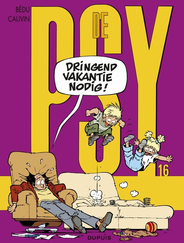 PSY 16. DRINGEND VAKANTIE NODIG PSY, Cauvin, Raoul, Paperback