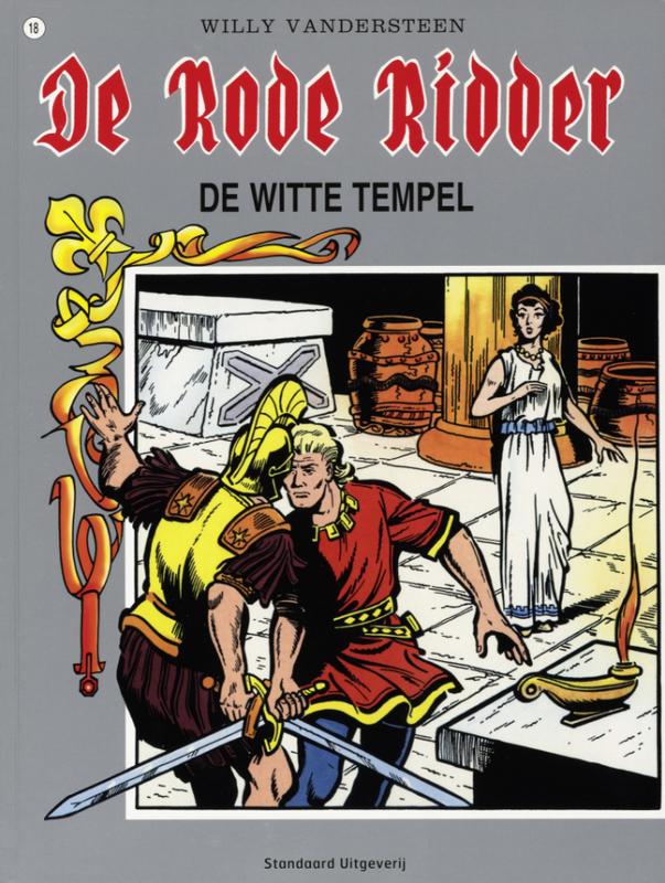 RODE RIDDER 018. WITTE TEMPEL RODE RIDDER, Vandersteen, Willy, Paperback