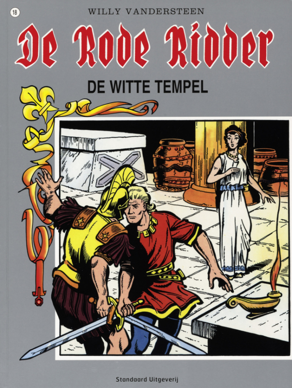 RODE RIDDER 018. WITTE TEMPEL De Rode Ridder, Vandersteen, Willy, Paperback