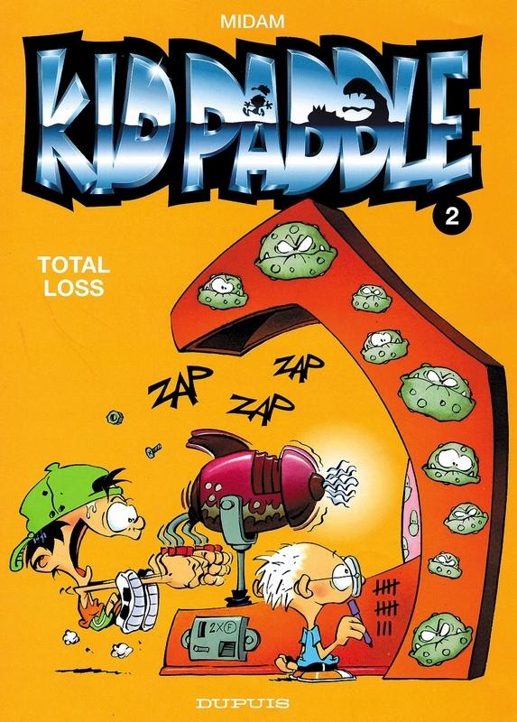 KID PADDLE 02. TOTAL LOSS KID PADDLE, Midam, Paperback