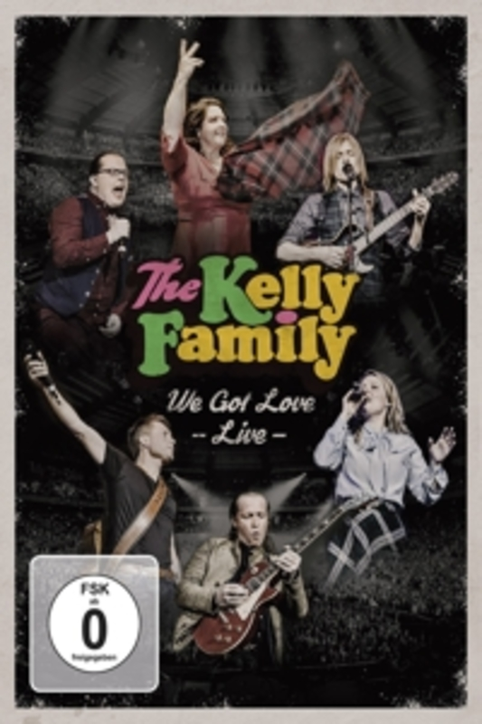 The Kelly Family - We Got Love (Live), (DVD) The Kelly Family, DVDNL