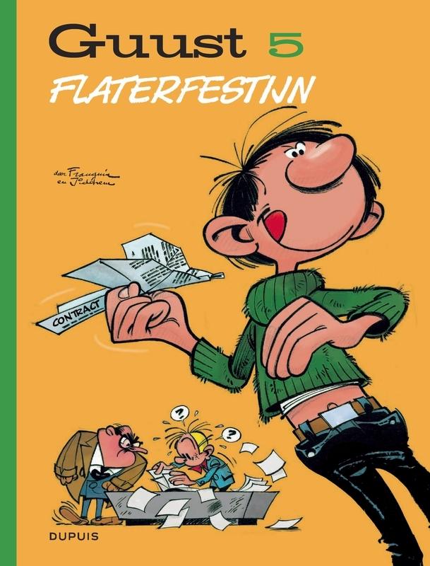 GUUST FLATER CHRONOLOGISCH HC05. FLATERFESTIJN GUUST FLATER CHRONOLOGISCH, Franquin, André, Hardcover