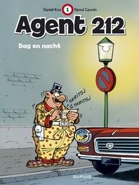 AGENT 212 01. DAG EN NACHT AGENT 212, KOX, DANIËL, CAUVIN, RAOUL, Paperback
