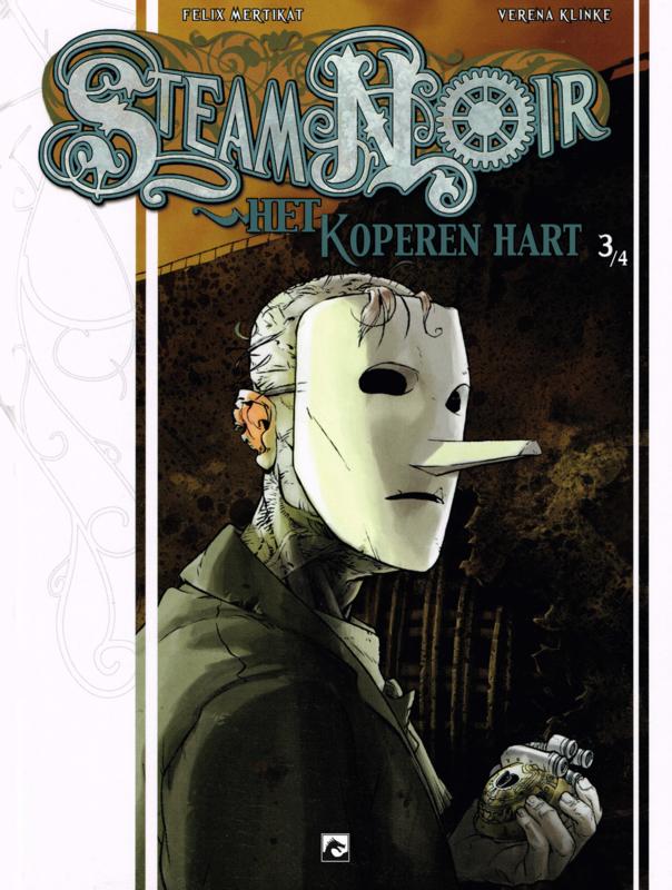 Steam Noir deel 3 Het koperen hart (Felix Mertikat, Verena Klinke) Paperback Steam Noir, BKST