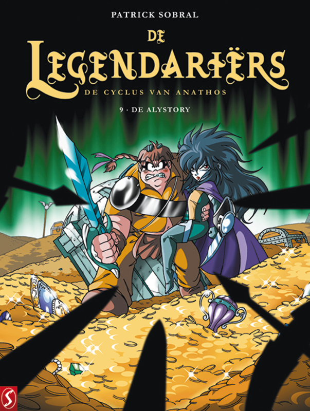 De Legendariers SC 9 DE CYCLUS VAN ANATHOS - DE ALYSTORY, Paperback De Legendariers, Sobral, Patrick, BKST