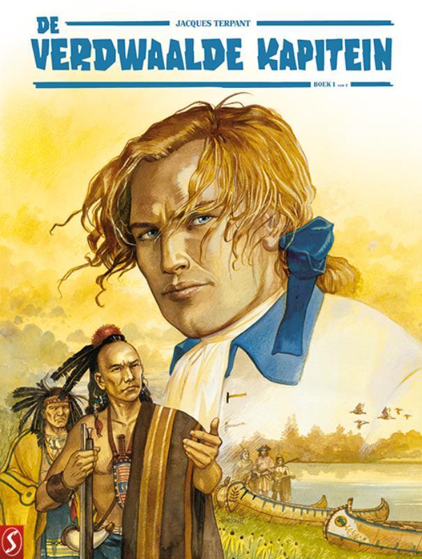 De Verdwaalde Kapitein 1 van 2 HC (Jacques Terpant) Hardcover De Verdwaalde Kapitein, BKST