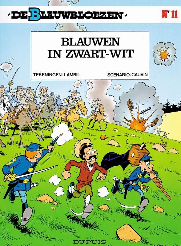 BLAUWBLOEZEN 11. BLAUWEN IN ZWART-WIT BLAUWBLOEZEN, LAMBIL, WILLY, CAUVIN, RAOUL, Paperback