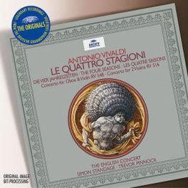 FOUR SEASONS THE ENGLISH CONCERT/TREVOR PINNOCK Audio CD, A. VIVALDI, CD