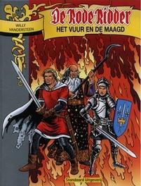 Het vuur en de maagd Rode Ridder, Lodewijk, Martin, Paperback