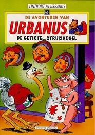 De getikte struisvogel URBANUS, W. Linthout, Paperback