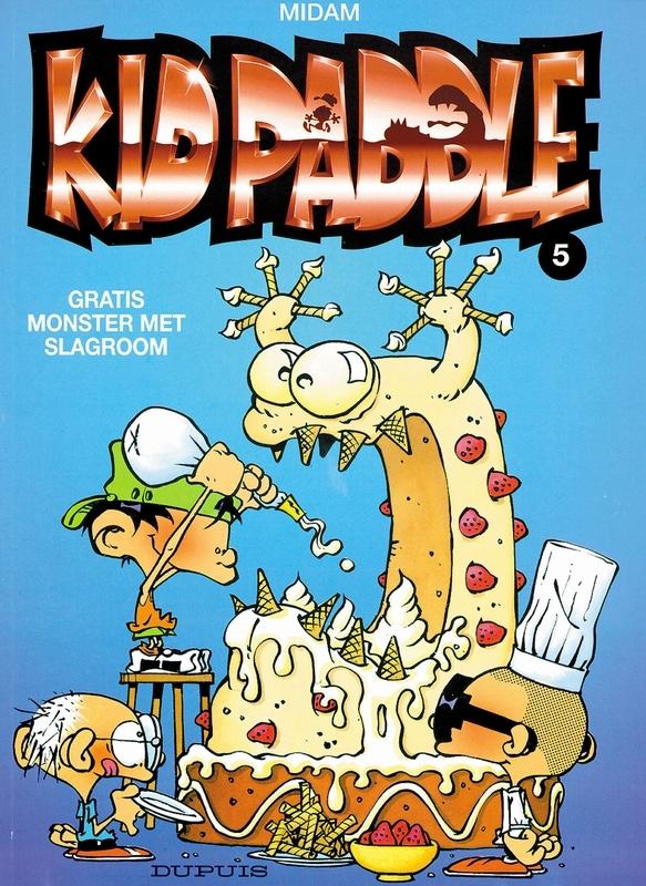 KID PADDLE 05. GRATIS MONSTER MET SLAGROOM KID PADDLE, Midam, Paperback