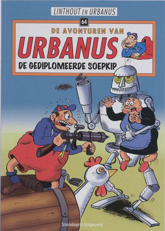 URBANUS 064. DE GEDIPLOMEERDE SOEPKIP URBANUS, Linthout, Willy, Paperback