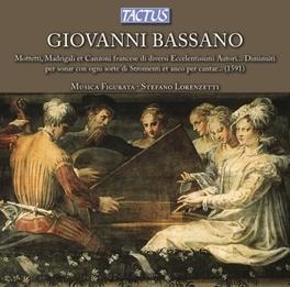 MOTTETTI, MADRIGALI ET CA MUSICA FIGURATA Audio CD, G. BASSANO, CD
