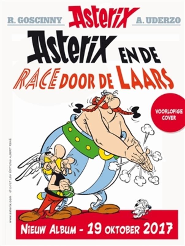 ASTERIX 37. DE RACE DOOR DE LAARS ASTERIX, Uderzo, Albert, Paperback