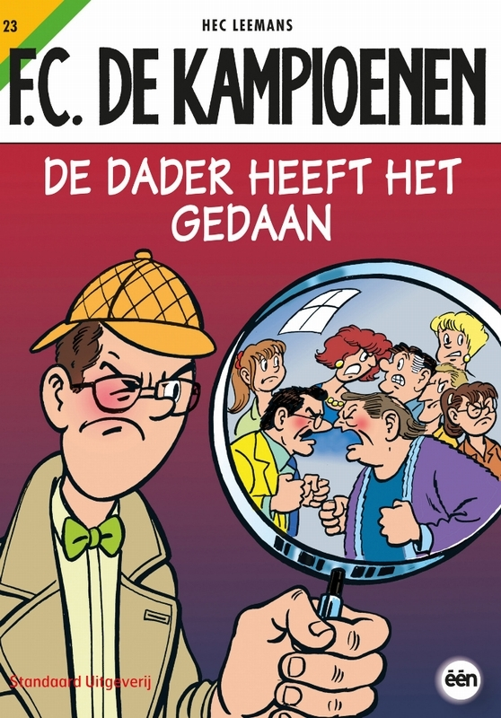 KAMPIOENEN 23. DE DADER HEEFT HET GEDAAN KAMPIOENEN, Hec Leemans, Paperback