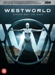 Westworld - Seizoen 1, (DVD) BILINGUAL /CAST: ANTHONY HOPKINS, ED HARRIS DVD