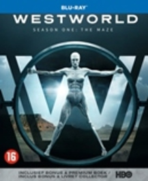 Westworld - Seizoen 1, (Blu-Ray) BILINGUAL /CAST: ANTHONY HOPKINS, ED HARRIS Blu-Ray
