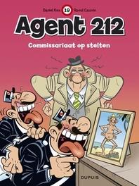 AGENT 212 19. COMMISSARIAAT OP STELTEN AGENT 212, KOX, DANIËL, CAUVIN, RAOUL, Paperback