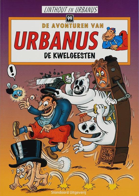 De kwelgeesten De avonturen van Urbanus, Linthout, Willy, Paperback