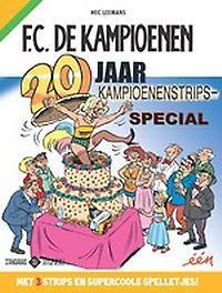 20 jaar Kampioenenstrips special KAMPIOENEN SPECIAL, Hec Leemans, Paperback