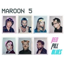 RED PILL BLUES Maroon 5, CD