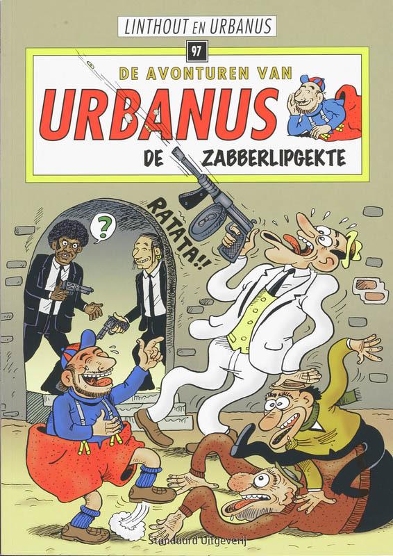 De zabberlipgekte Urbanus, Willy Linthout, Paperback