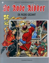 De rode gezant RODE RIDDER, Willy Vandersteen, Paperback