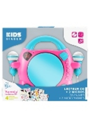 Bigben Interactive My Mia Portable CD player Blauw, Roze