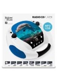 Bigben Interactive Draagbare radio-CD speler met dolfijnendesign