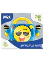 Bigben Interactive My Milo Portable CD player Blauw, Geel