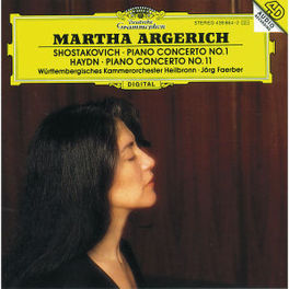 CONCERTOS FOR PIANO ARGERICH TOUVRON HEILBRONN CO FAERBER Audio CD, SHOSTAKOVICH/HAYDN, CD