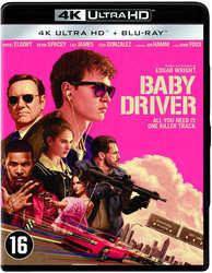 Baby driver, (Blu-Ray 4K...
