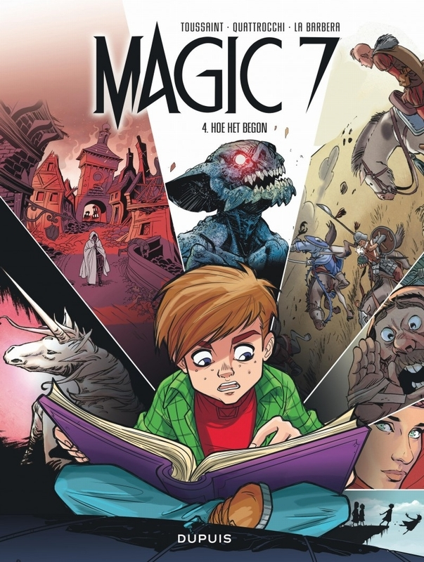 MAGIC 7 04. HOE HET BEGON MAGIC 7, Toussaint, Kid, Paperback