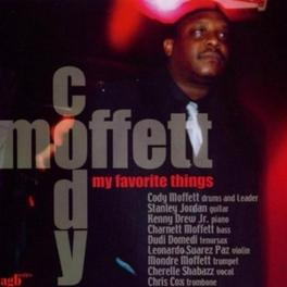 MY FAVORITE THINGS CODY MOFFETT, CD