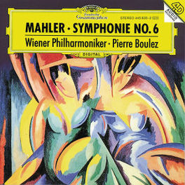 SYMPHONY NO.6 WIENER PHILHARMONIKER/JAMES LEVINE Audio CD, G. MAHLER, CD