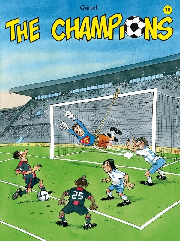 CHAMPIONS 18. (HERDRUK) CHAMPIONS, Gürsel, Paperback