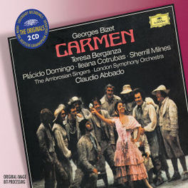 CARMEN L.S.O./CLAUDIO ABBADO/BERGANZA/DOMINGO/MILNES/A.O. Audio CD, G. BIZET, CD