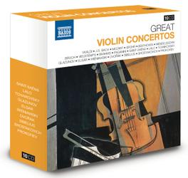 GREAT VIOLIN CONCERTOS VIVALDI/MOZART/SPOHR/BEETHOVEN/TCHAIKOVSKY/PAGANINI... V/A, CD