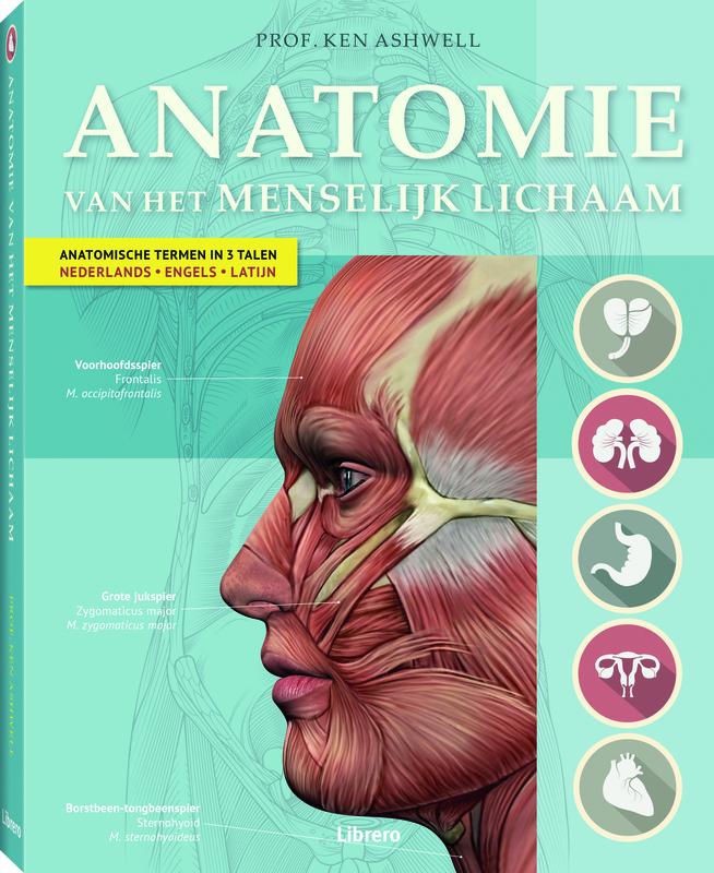 Anatomie van het menselijk lichaam  (Ken Ashwell) 320p Hardcover Ashwell, Ken,