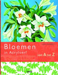 Bloemen in acrylverf van A...