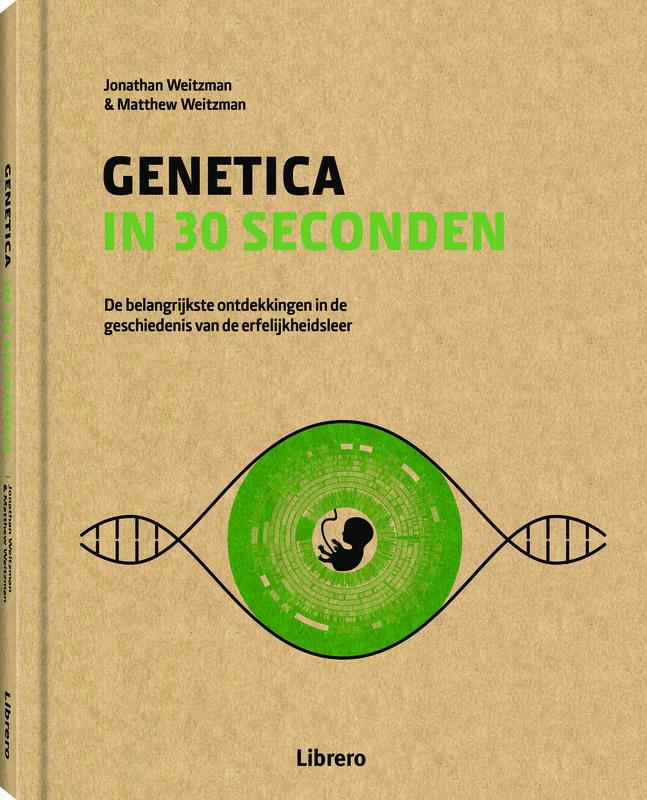 Genetica in 30 seconden  (Jonathan & MatthewWeitzman) 160p Hardcover BK