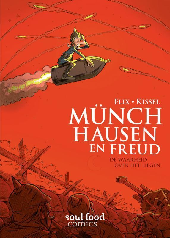 Münchhausen en Freud de waarheid over het liegen, Flix, Paperback