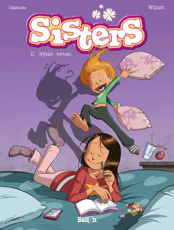 SISTERS 12. OPGELET: TORNADO SISTERS, Cazenove, Christophe, Paperback