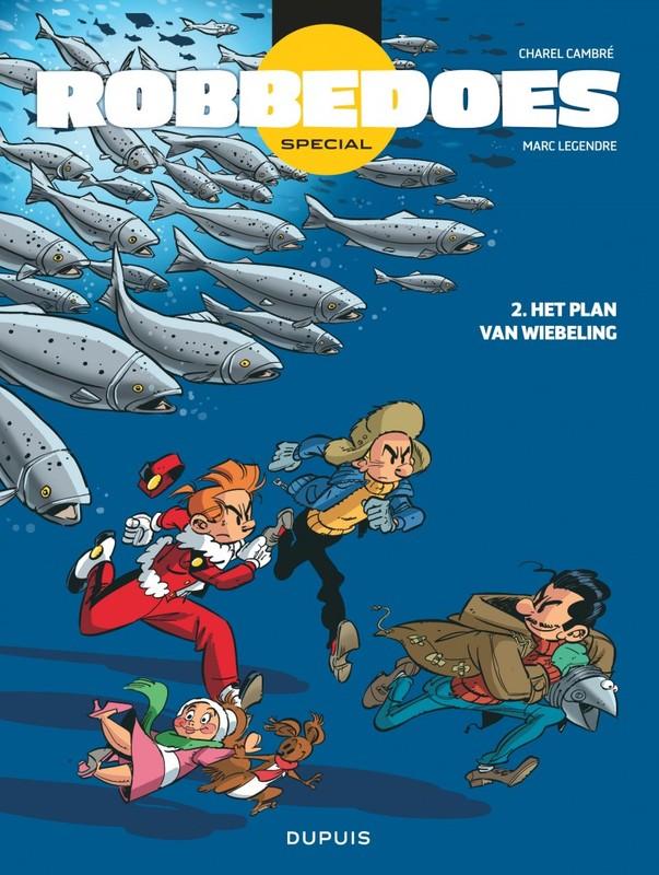 ROBBEDOES SPECIAL 02. HET PLAN VAN WIEBELING ROBBEDOES SPECIAL, Marc Legendre, Paperback