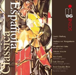 CLASSICA ESPANOLA ANETTE MAIBURG/ANDREAS VON WANGENHEIM/LUIS LLORENTE V/A, CD